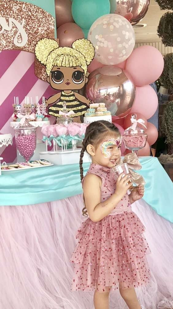 An Lol Doll Themed Birthday Party The Wee Sparkle